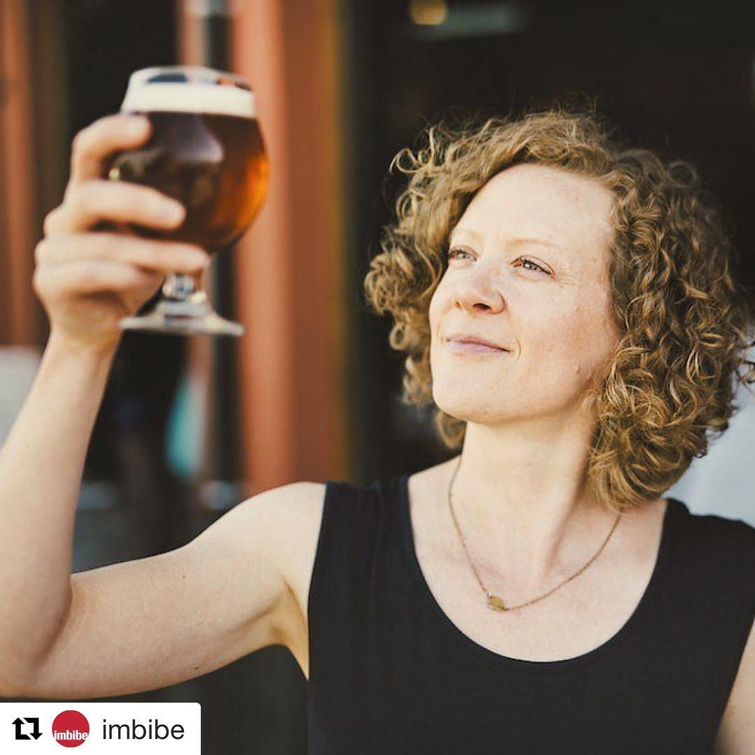 Thanks @imbibe for featuring me and my new book! ・・・ Imbibe contributor @lucyburningham's newest book My Beer Year (officially out on 10/25) chronicles the road to becoming a certified cicerone, and it's such a fun and interesting read. Over at imbibemagazine.com, we chat with Lucy about how the book came to be and what she learned along the way—on the homepage now! 📷: Anna Caitlin Photography #craftbeer #mybeeryear #imbibe #imbibegram