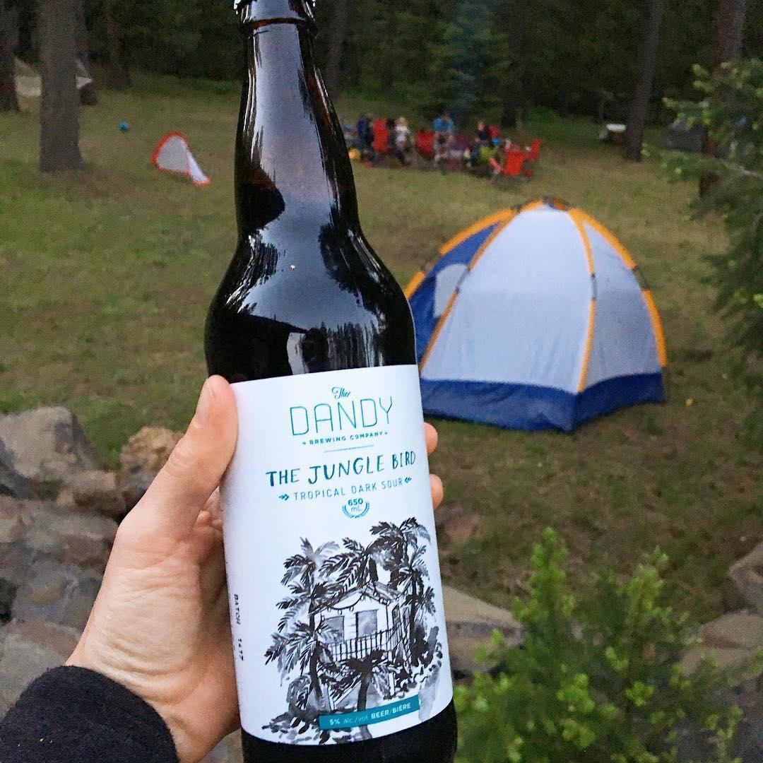 Celebrating this holiday weekend with a Canadian beer! Loved this tropical dark sour from Calgary. Thanks for the gift, @jaymehalas!🌴🇨🇦 #beer #sourale #beerstagram #instabeer #beerme #canada #calgary #craftbeer #cicerone #beerme #beergeek
