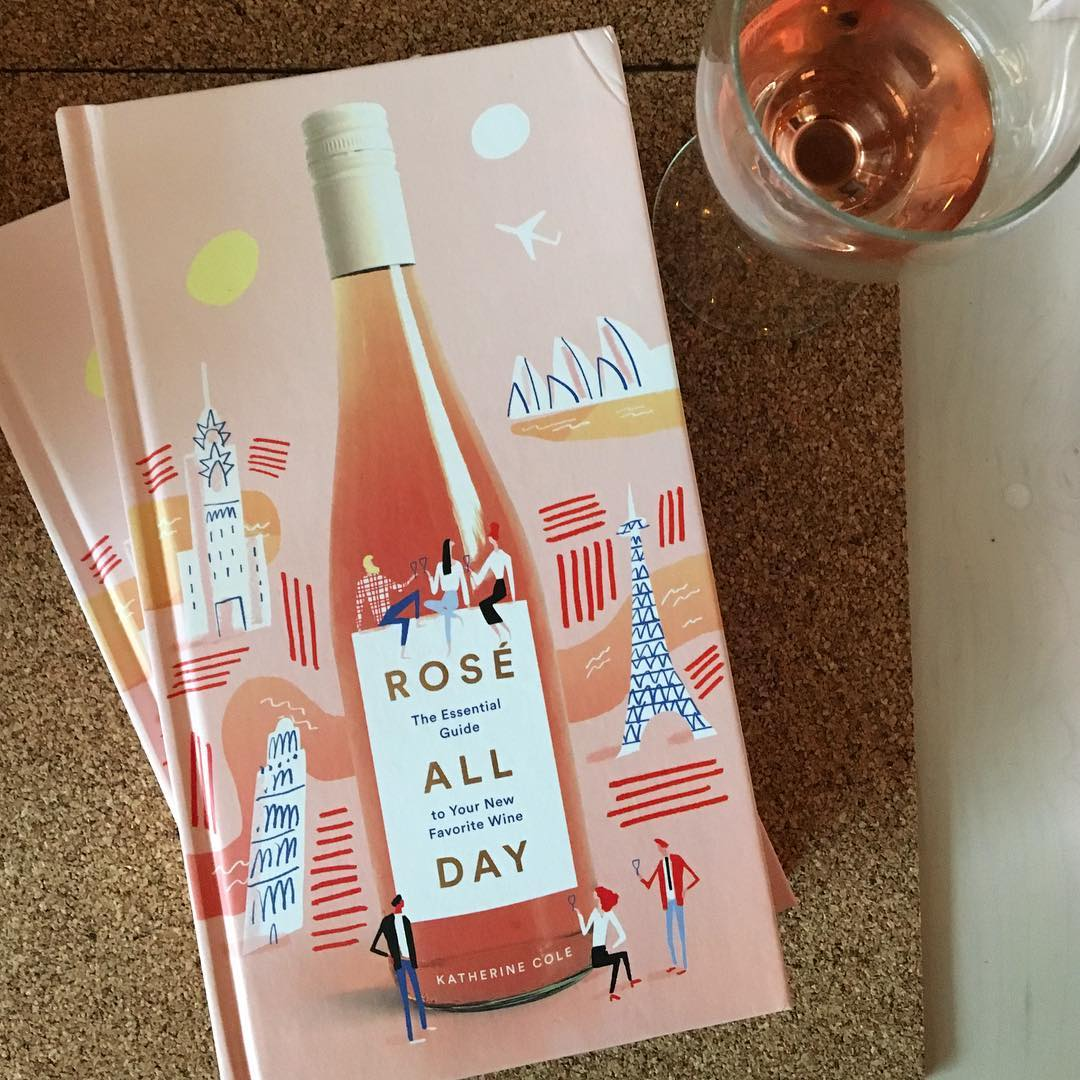 Ooh la la, @tuskpdx was happening tonight. Because let's face it, we all want to drink rosé all day. Congrats to @kcoleuncorked on a gorgeous book! #roseallday #tuskpdx #pdxdrinks #pdx