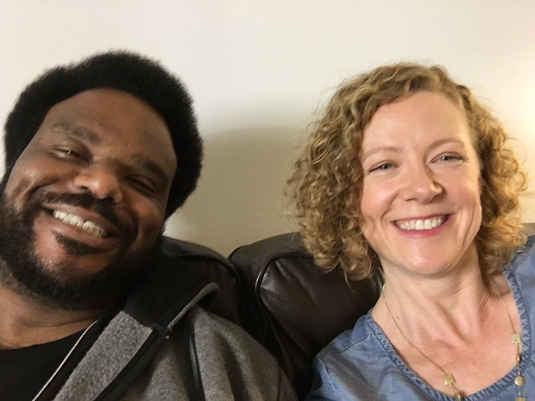 Sometimes you find yourself on a green room couch with Craig Robinson. And for a moment you pretend you're in Hot Tub Time Machine. Then you return to reality and realize, I get to talk about beer on TV! Can I just keep talking about beer? It's the most fun thing EVER. I mean it. #authorlife #mybeeryear #beer #craftbeer #cicerone #oregonbeer #pdx
