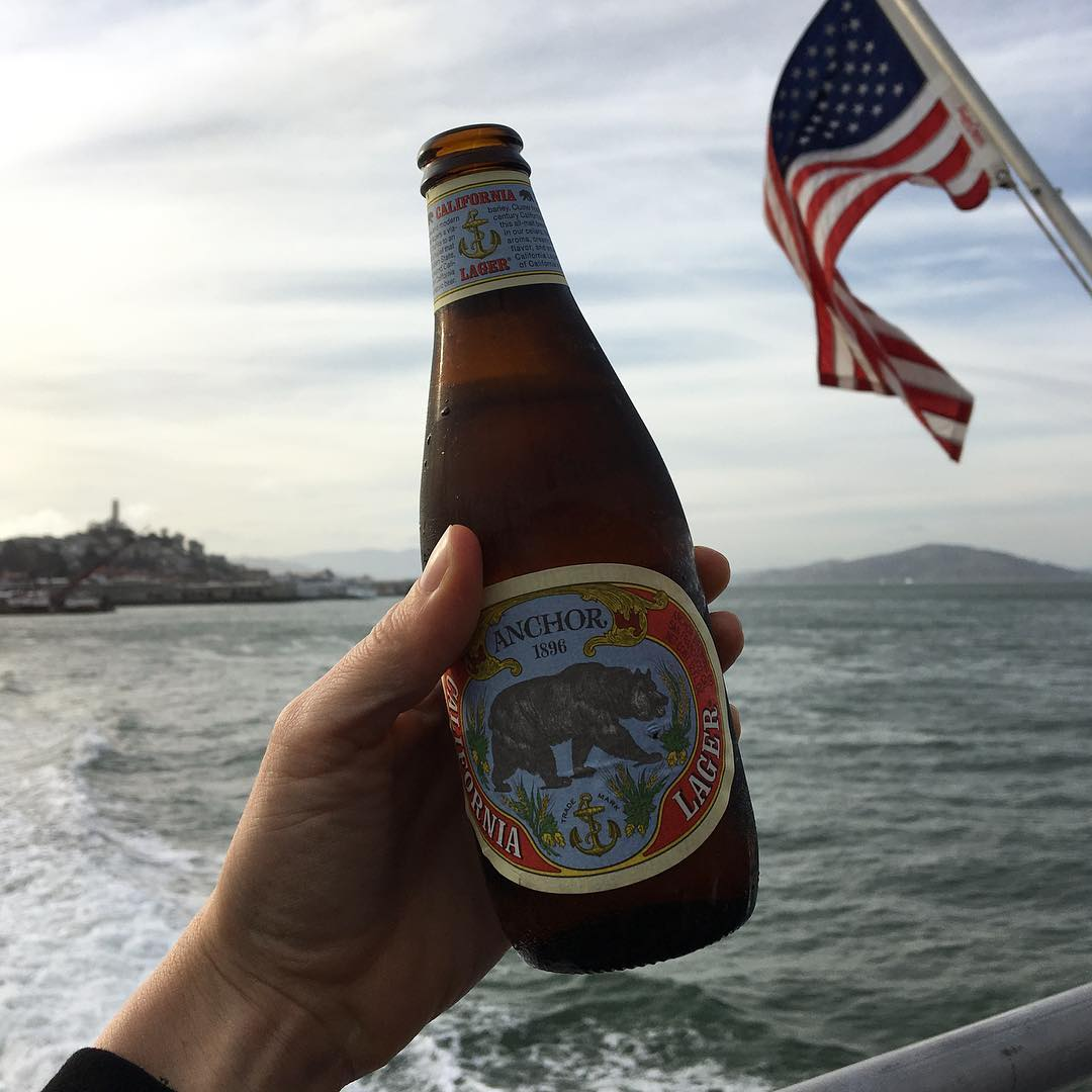 Peace out, San Francisco! ✌🏽Thanks for the birthday pre-funk. #BEER