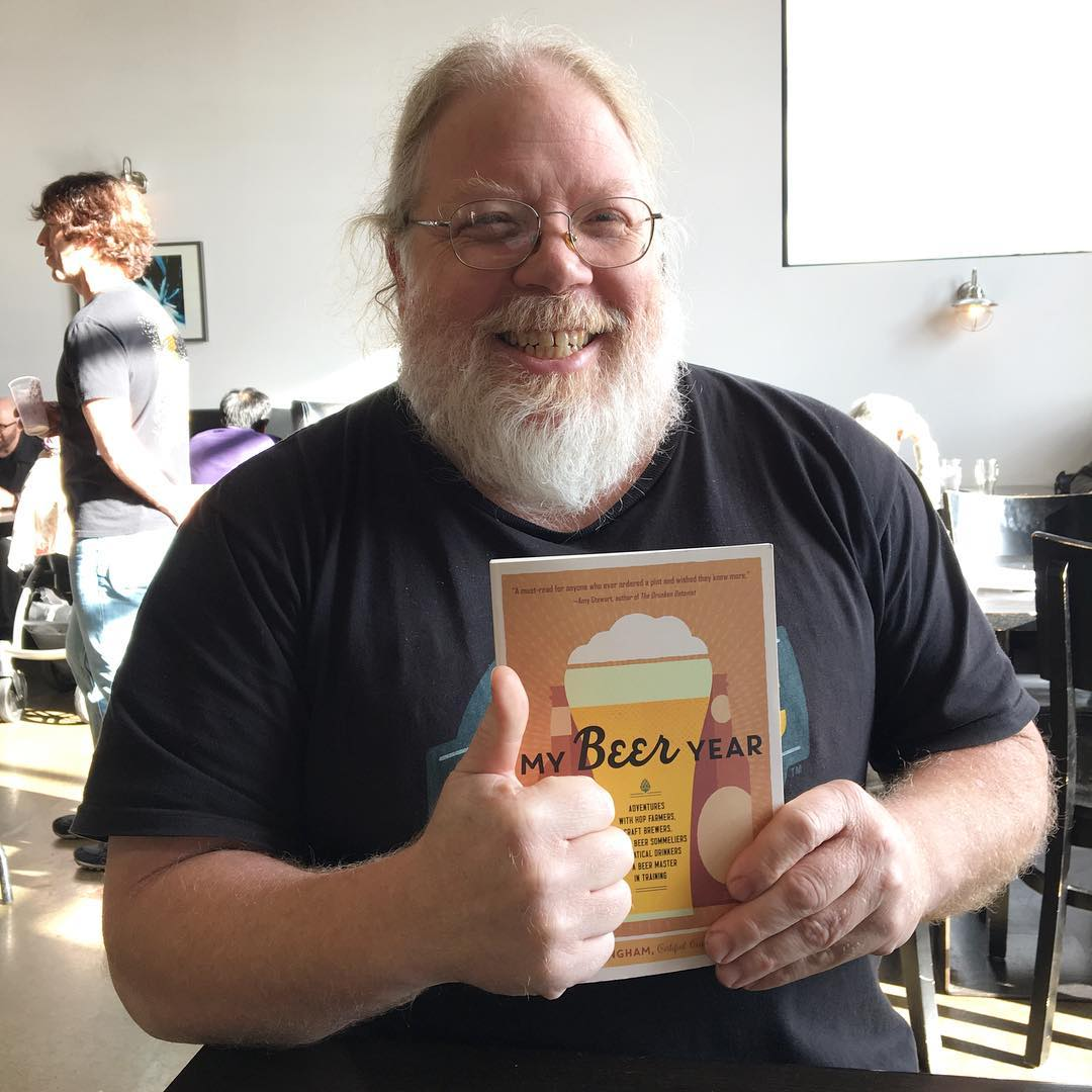 Tonight! Come to my reading and book signing at @finaldrafttaphouse in Vancouver at 6:30pm. We're going to talk hops and how to evaluate beer like a pro. Disclaimer: @johnharris44 has nothing to do with this event, but I just love this photo.