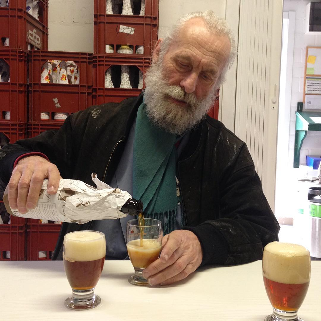 #tbt to that time I went to Belgium and drank beer with this gentleman.