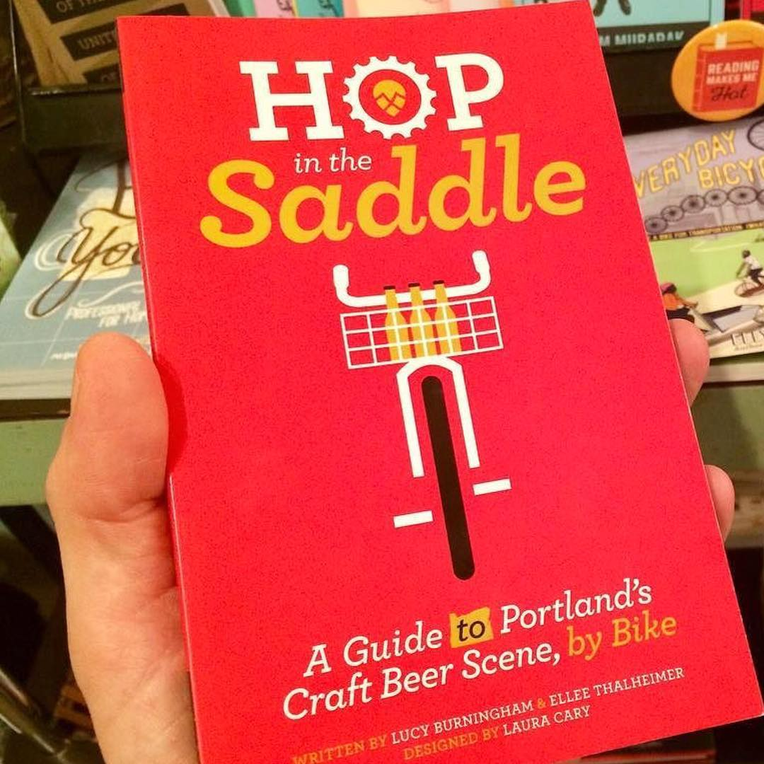I'm still so proud of this little book. Love seeing smart shoppers like @jbucky1 putting a copy in the cart for their favorite beer + bike lovers!