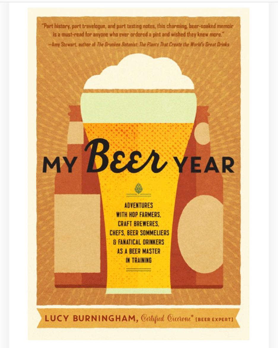 Some shout outs for the peeps who gave My Beer Year love this week. Big thanks to @davidnilsenbeer for chatting with me about my Cicerone journey for @porchdrinkingco. And @big_hair_dontcare is reaching her goal of reading more and studying for the Cicerone exam by reading my book. Plus! @arborguesthousepdx has both of my books on hand for guests to enjoy. LOVE IT. ❤️🍺❤️